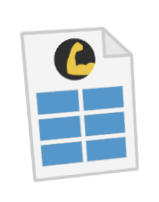 HustleBooks Document Icon
