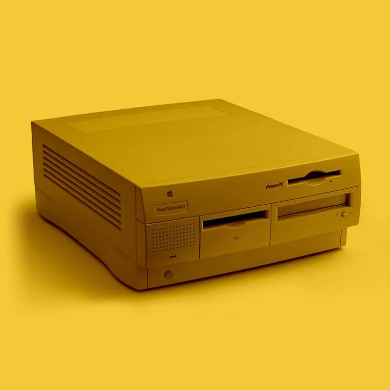 PowerMac G3 - a Mac that made HustleBooks
