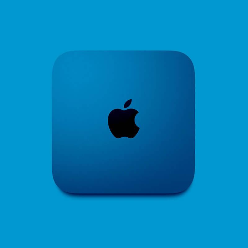 Mac mini - a Mac that is making HustleBooks