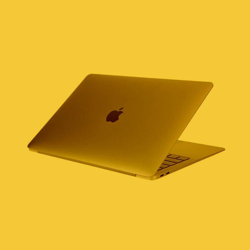 MacBook Air - the Mac where HustleBooks was born